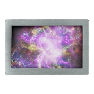 The Chandra X-ray in the Crab Nebula Rectangular Belt Buckle