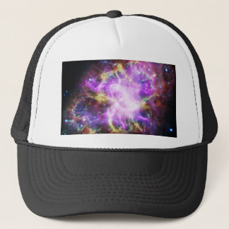 The Chandra X-ray in the Crab Nebula Trucker Hat