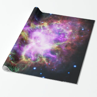 The Chandra X-ray in the Crab Nebula Wrapping Paper