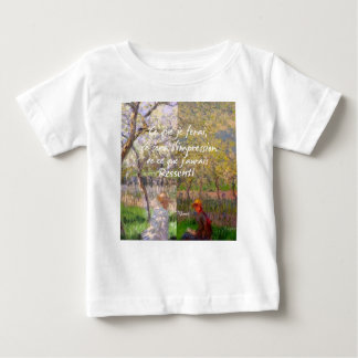 The change of the seasons renew my soul baby T-Shirt