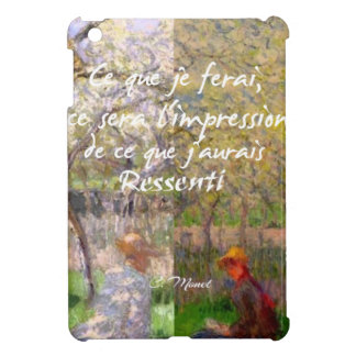 The change of the seasons renew my soul iPad mini cover