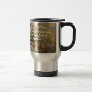 The change of the seasons renew my soul travel mug