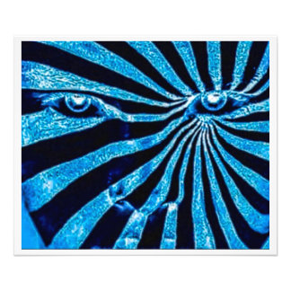 The Changeling (Blue Close Up) Photo Print