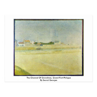 The Channel Of Gravelines, Grand Fort-Philippe Postcard