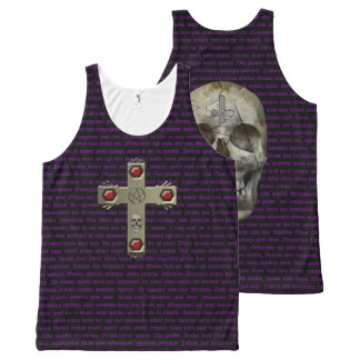 The Chant All-Over Print Singlet