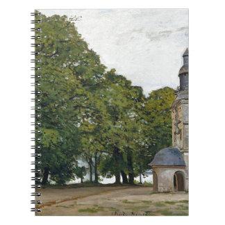 The Chapel Notre-Dame de Grace at Honfleur Note Books