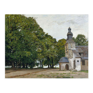 The Chapel Notre-Dame de Grace at Honfleur Postcard
