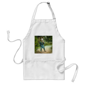 The Charcoal Merchant in Old Japan Rustic Vintage Standard Apron