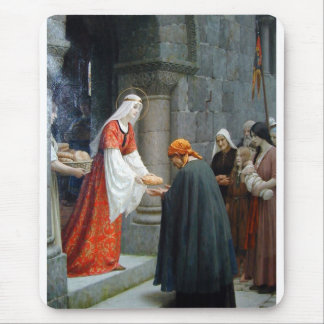 The Charity of St. Elizabeth of Hungary Mouse Pad