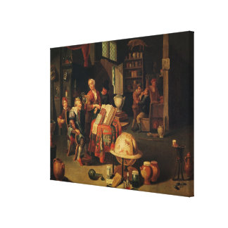 The Charlatan Gallery Wrapped Canvas