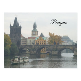 The Charles Bridge Prague Czech Republic Postcard