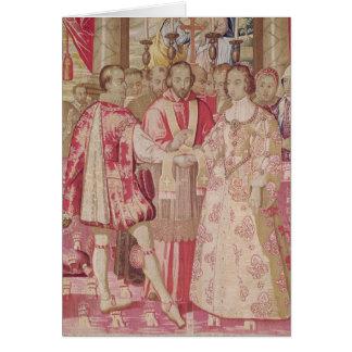 The Charles V Tapestry Card
