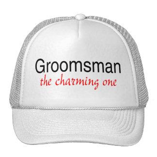 The Charming One (Groomsman) Trucker Hats