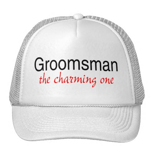 The Charming One (Groomsman) Trucker Hats