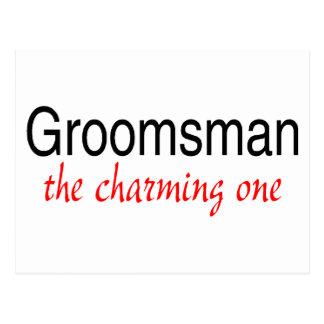 The Charming One (Groomsman) Postcard