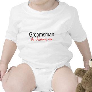 The Charming One Groomsman Tee Shirt