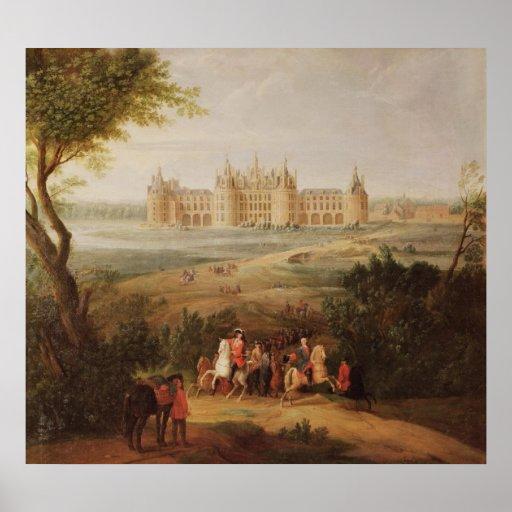 The Chateau de Chambord, 1722 Posters
