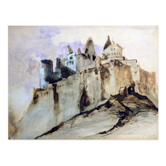 The Chateau of Vianden, 1871 Postcard