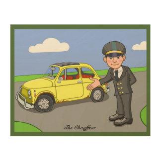 The Chauffeur Wood Prints