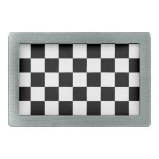The Checker Flag Belt Buckles