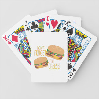 The Cheese Bicycle Playing Cards