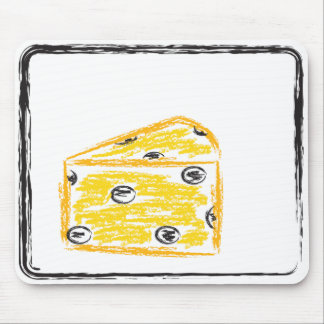 The Cheese Stands Alone Mouse Pad