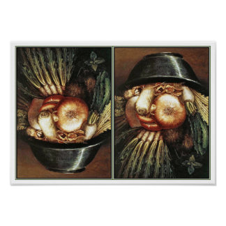 The Chef by Giuseppe Arcimboldo Poster
