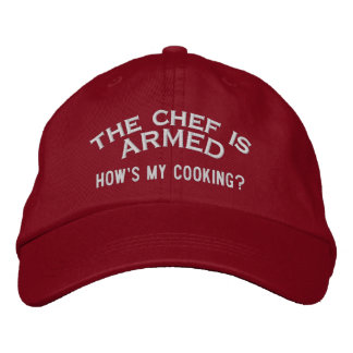 The Chef is ARMED 2 Baseball Cap