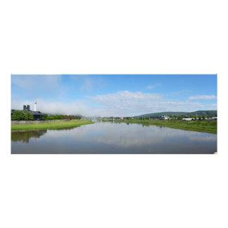 The Chemung River Photo Print