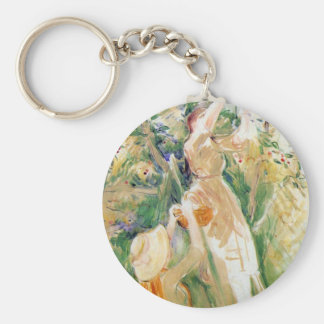 The Cherry Tree, study by Berthe Morisot Keychain