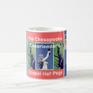 The Chesapeake Cheerleader's Chapel Hat Pegs Coffee Mug