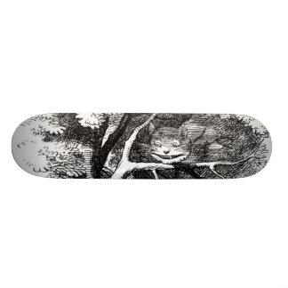 The cheshire cat 20.6 cm skateboard deck