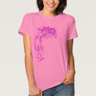 """The Cheshire Cat"" from ""Alice in Wonderland"" T-shirt"