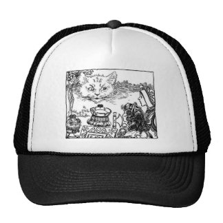 The Cheshire Cat Vintage Illustration Cap