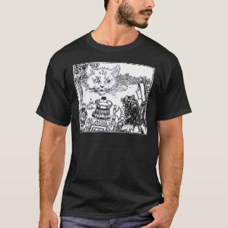 The Cheshire Cat Vintage Illustration T-Shirt