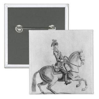 The Chevalier d Eon as a Dragoon 1779 Pins