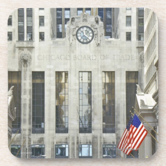'The Chicago Board of Trade, Chicago, Illinois' Coaster