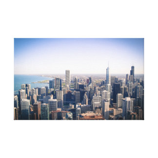 The Chicago Skyline Gallery Wrapped Canvas