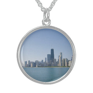 The Chicago Skyline Sterling Silver Necklace