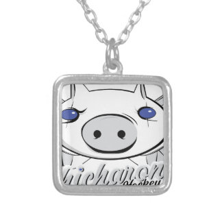 The Chicharones Silver Plated Necklace