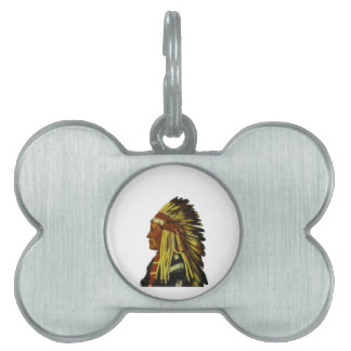 The Chief Pet Tag