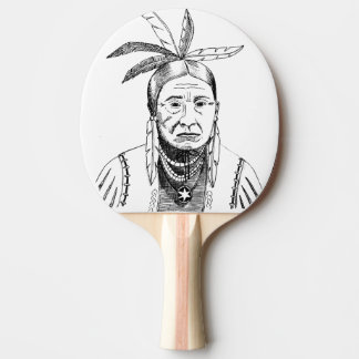 THE CHIEF Ping-Pong Paddle