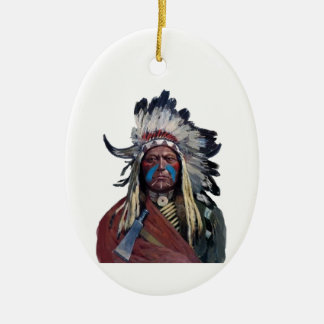The Chieftain Ceramic Ornament