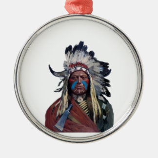 The Chieftain Metal Ornament