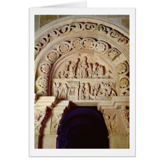 The Childhood of Christ, Tympanum of Right Portal, Card