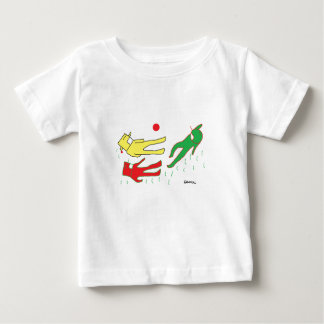 The children's wear whose ekumochi is lovely soft baby T-Shirt