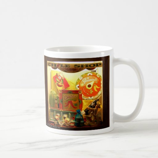 The Chili Shop Coffee Mugs
