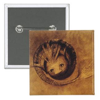 The Chimera Chimäre by Symbolist Odilon Redon Buttons