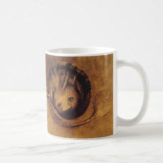 The Chimera [Chimäre] by Symbolist Odilon Redon Basic White Mug