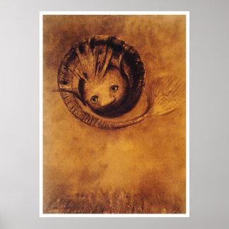 The Chimera [Chimäre] by Symbolist Odilon Redon Poster